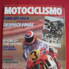 Coches y Motocicletas: REVISTA MOTOCICLISMO - Nº 1.058 - 2 JUNIO 1988.. Lote 152043826