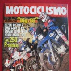 Coches y Motocicletas: REVISTA MOTOCICLISMO - Nº 1.221 - 18 JULIO 1991.. Lote 152044598