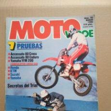 Coches y Motocicletas: MOTO VERDE N° 92 MARZO 1986. Lote 152276824