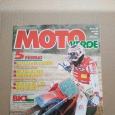 Coches y Motocicletas: MOTO VERDE N° 80 MARZO 1985. Lote 152277126
