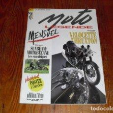 Coches y Motocicletas: MOTO LEGENDE Nº 7 - VELOCETTE THRUXTON - RUMI - GUZZI -. Lote 152348806