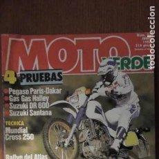 Coches y Motocicletas: REVISTA MOTO VERDE. NÚMERO 95. JUNIO DE 1986. Lote 153417530