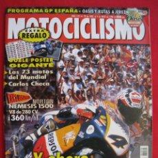 Coches y Motocicletas: REVISTA MOTOCICLISMO - Nº 1.575 - 28 DE ABRIL AL 4 DE MAYO DE 1998 - CON DOBLE POSTER GIGANTE.. Lote 192150678