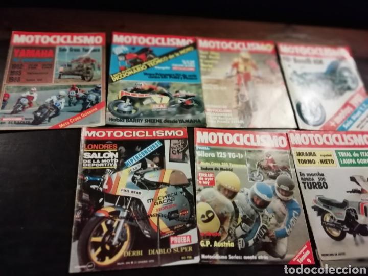 7 REVISTAS DE MOTOS MOTOCICLISMO AÑOS 80 (Coches y Motocicletas - Revistas de Motos y Motocicletas)