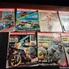 Coches y Motocicletas: 7 REVISTAS DE MOTOS MOTOCICLISMO AÑOS 80. Lote 154341848