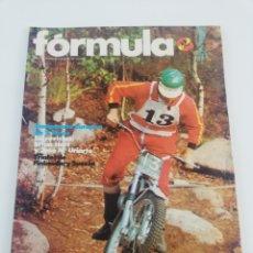Coches y Motocicletas: REVISTA FORMULA NUMERO 84 OCTUBRE 1973 VER SUMARIO RALLYE SJERRY ALPES MONTESA AUTOMIX. Lote 154694058