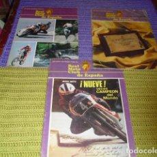 Coches y Motocicletas: REVISTAS REAL MOTO CLUB DE ESPAÑA- NUMS. 348 - 350 - 351 -AÑOS 1979-1980 -. Lote 154976730