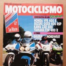 Coches y Motocicletas - Motociclismo 1226 Honda VFR 400 R Suzuki GSXR Kawasaki ZXR Yamaha FZR Gilera Nordwest - 155093238