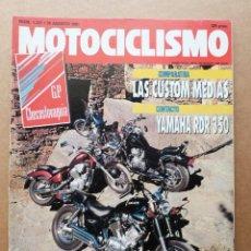 Coches y Motocicletas: MOTOCICLISMO 1227 KAWASAKI 500 VULCAN SUZUKI 750 INTRUDER YAMAHA 535 VIRAGO HONDA SHADOW RDR 350. Lote 155097990