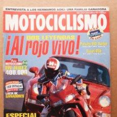 Coches y Motocicletas: MOTOCICLISMO 1419 DUCATI 916 VS PORCHE 911 TURBO ITALJET FORMULA 50 RUTAS GRAN PREMIO DE JEREZ. Lote 155101642
