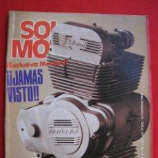 Coches y Motocicletas: REVISTA SOLO MOTO - Nº 225 - 8 FEBRERO 1980.. Lote 155705906