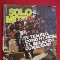 Coches y Motocicletas: REVISTA SOLO MOTO - Nº 224 - 1 FEBRERO 1980.. Lote 155706802