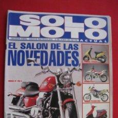Coches y Motocicletas: REVISTA SOLO MOTO ACTUAL - Nº 885 - 19 MAYO 1993.. Lote 155707606