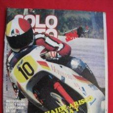 Coches y Motocicletas: REVISTA SOLO MOTO - Nº 257 - 9 OCTUBRE 1980.. Lote 155986354