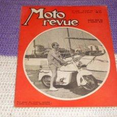 Coches y Motocicletas: MOTO REVUE Nº 1.251 - AGOSTO DE 1955 - SALON DE BARCELONA -. Lote 155986686