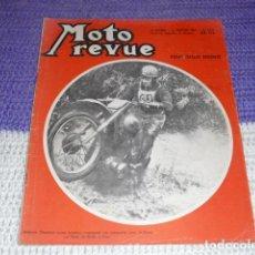 Coches y Motocicletas: MOTO REVUE Nº 1.219 - ENERO DE 1955 - PRUEBA DE LA GUZZI ZIGOLO -. Lote 155988382