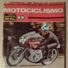 Coches y Motocicletas: REVISTA MOTOCICLISMO Nº 7 ESPECIAL - JULIO 1965. Lote 156245154