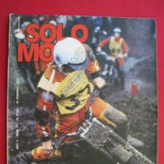 Coches y Motocicletas: REVISTA SOLO MOTO - Nº 77 - 18 FEBRERO 1977.. Lote 156274538