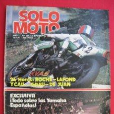 Coches y Motocicletas: REVISTA SOLO MOTO - Nº 294 - 16 JULIO 1981.. Lote 156339974