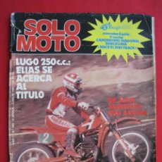 Coches y Motocicletas: REVISTA SOLO MOTO - Nº 292 - 2 JULIO 1981.. Lote 156347054