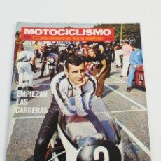 Coches y Motocicletas: REVISTA MOTOCICLISMO MARZO 1971 BULTACO DUCATI-50 POSTER KEL CARRUTHERS, VER SUMARIO.. Lote 156514916