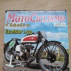Coches y Motocicletas: REVISTA MOTOCICLISMO CLÁSICO Nº 1 - EXCELSIOR 1.933, HISTORIA ZÜNDAPP, MONTESA BRÍO 90 , ETC. Lote 156723126