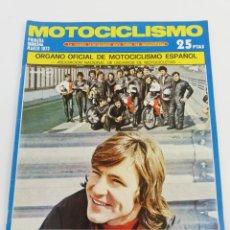 Coches y Motocicletas: REVISTA MOTOCICLISMO PRIMERA QUINCENA MARZO 1973 PUCH DAKOTA POSTER TRIAL. Lote 156976870