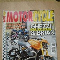 Coches y Motocicletas: REVISTA MOTORCYCLE PERFORMANCE Nº 40 -TRIUMPH DAYTONA, MONTESA 360 AGUA, BULTACO MATADOR, ETC. Lote 157027290
