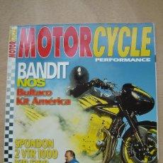 Coches y Motocicletas: REVISTA MOTORCYCLE PERFORMANCE Nº 41 -BULTACO KIT AMÉRICA, SPONDON 2 VTR 1000 , XJR 1200, ETC. Lote 157028398
