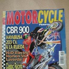 Coches y Motocicletas: REVISTA MOTORCYCLE PERFORMANCE Nº 42 - CBR 900 HAYABUSA 203 CV, BUELL, EXUP 1000, LAVERDA SPOND, ETC. Lote 157029718
