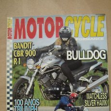 Coches y Motocicletas: REVISTA MOTORCYCLE PERFORMANCE Nº 43 - BANDIT, CBR 900, R1, BMW R12, OSSA 175 SPORT, ETC. Lote 157030826