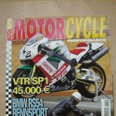 Coches y Motocicletas: REVISTA MOTORCYCLE PERFORMANCE Nº 44 - VTR SP1, BMW RS54, DKW SB200, DUCATI 125 SPORT, ETC. Lote 157032678