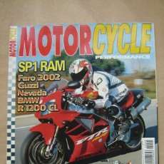 Coches y Motocicletas: REVISTA MOTORCYCLE PERFORMANCE Nº 45 - GUZZI NEVADA, BMW R1200CL, ARIEL RED HUNTER, ETC. Lote 157033786