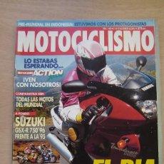 Coches y Motocicletas: REVISTA MOTOCICLISMO Nº 1460 - SUZUKI GSX-R 750/96, , ETC. Lote 157255566