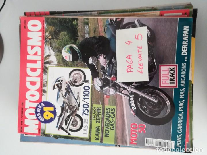 REVISTA MOTOCICLISMO 1198 * KAWASAKI ZEPHIR 750 + NOVEDADES GAS-GAS * 57 (Coches y Motocicletas - Revistas de Motos y Motocicletas)