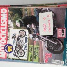 Coches y Motocicletas: REVISTA MOTOCICLISMO 1198 * KAWASAKI ZEPHIR 750 + NOVEDADES GAS-GAS * 57. Lote 157417190