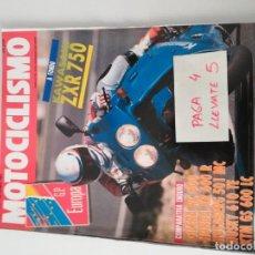 Coches y Motocicletas - REVISTA MOTOCICLISMO 1217 * KAWASAKI ZXR 750 + GILERA RC 600 + KTM GS 600 LC * 57 - 157417882