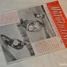 Coches y Motocicletas: VINTAGE Y ANTIGUA - ESPAÑA MOTOCICLISTA - Nº 44 - JUNIO DE 1955 - NUMEROSA PUBLICIDAD - ENVÍO 24H. Lote 157458458