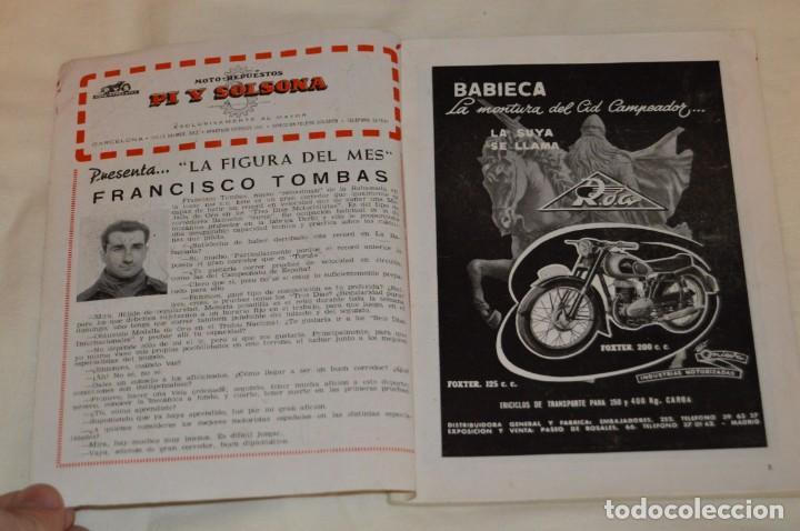 Coches y Motocicletas: VINTAGE Y ANTIGUA - ESPAÑA MOTOCICLISTA - Nº 44 - JUNIO DE 1955 - NUMEROSA PUBLICIDAD - ENVÍO 24H - Foto 4 - 157458458