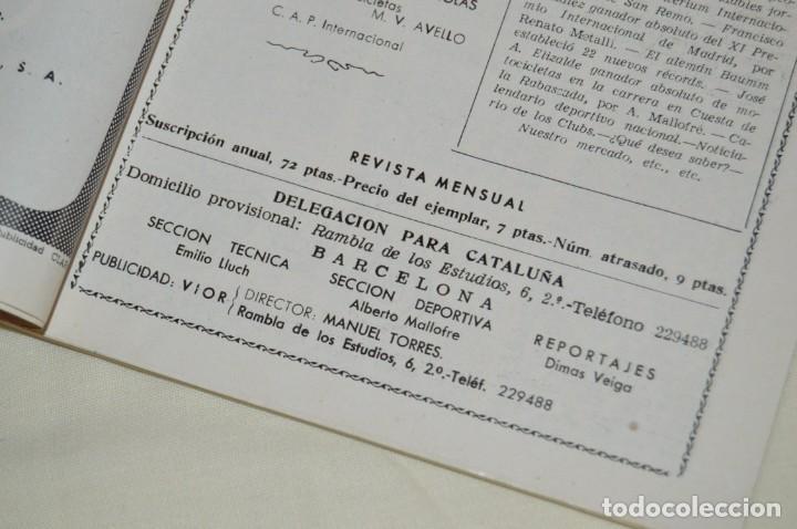 Coches y Motocicletas: VINTAGE Y ANTIGUA - ESPAÑA MOTOCICLISTA - Nº 44 - JUNIO DE 1955 - NUMEROSA PUBLICIDAD - ENVÍO 24H - Foto 6 - 157458458