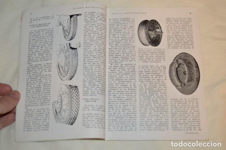 Coches y Motocicletas: VINTAGE Y ANTIGUA - ESPAÑA MOTOCICLISTA - Nº 44 - JUNIO DE 1955 - NUMEROSA PUBLICIDAD - ENVÍO 24H - Foto 8 - 157458458