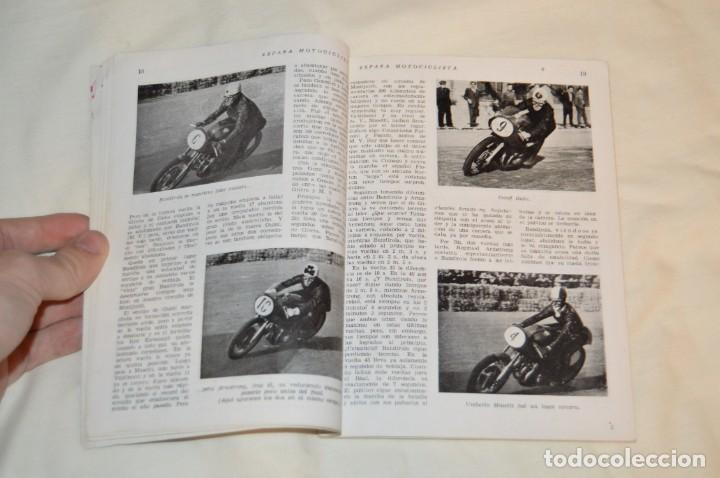 Coches y Motocicletas: VINTAGE Y ANTIGUA - ESPAÑA MOTOCICLISTA - Nº 44 - JUNIO DE 1955 - NUMEROSA PUBLICIDAD - ENVÍO 24H - Foto 9 - 157458458