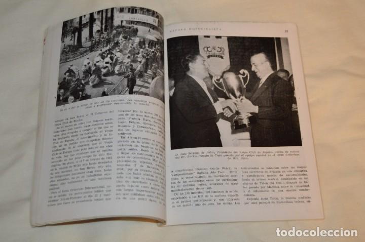 Coches y Motocicletas: VINTAGE Y ANTIGUA - ESPAÑA MOTOCICLISTA - Nº 44 - JUNIO DE 1955 - NUMEROSA PUBLICIDAD - ENVÍO 24H - Foto 11 - 157458458