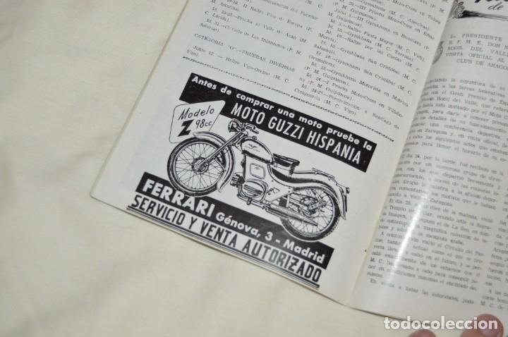 Coches y Motocicletas: VINTAGE Y ANTIGUA - ESPAÑA MOTOCICLISTA - Nº 44 - JUNIO DE 1955 - NUMEROSA PUBLICIDAD - ENVÍO 24H - Foto 13 - 157458458