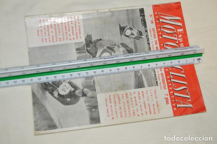 Coches y Motocicletas: VINTAGE Y ANTIGUA - ESPAÑA MOTOCICLISTA - Nº 44 - JUNIO DE 1955 - NUMEROSA PUBLICIDAD - ENVÍO 24H - Foto 14 - 157458458
