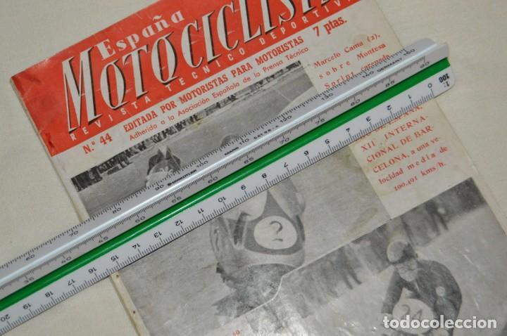 Coches y Motocicletas: VINTAGE Y ANTIGUA - ESPAÑA MOTOCICLISTA - Nº 44 - JUNIO DE 1955 - NUMEROSA PUBLICIDAD - ENVÍO 24H - Foto 15 - 157458458