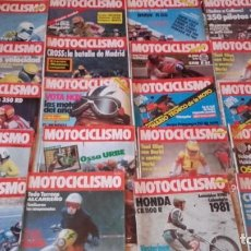 Coches y Motocicletas: LOTE 20 REVISTAS MOTOCICLISMO AÑO 1980.. Lote 158963222