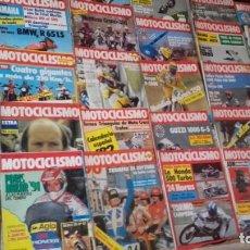 Coches y Motocicletas: LOTE 38 REVISTAS MOTOCICLISMO AÑO 1981.. Lote 158966750