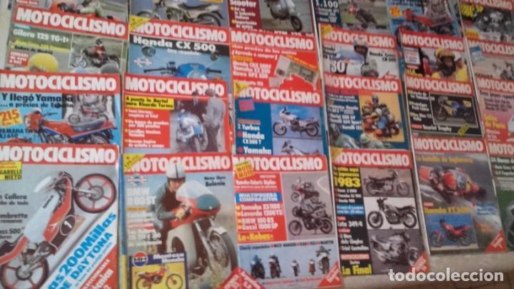 LOTE 30 REVISTAS MOTOCICLISMO AÑO 1982. (Coches y Motocicletas - Revistas de Motos y Motocicletas)