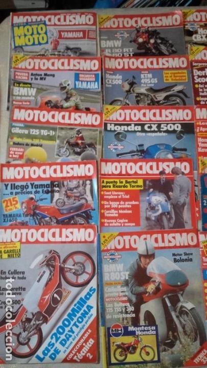 Coches y Motocicletas: LOTE 30 REVISTAS MOTOCICLISMO AÑO 1982. - Foto 2 - 158968750